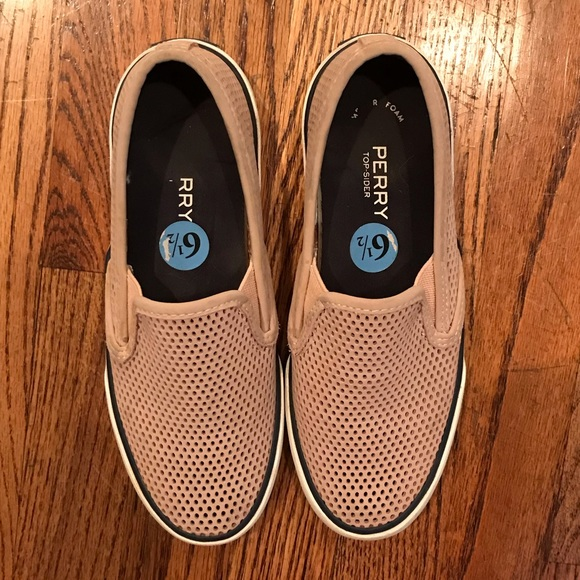 Sperry Size 6.5 Rose Dust Slide-On Shoes